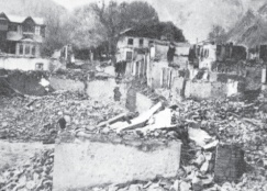 Baramulla when pillaged by the enemy.