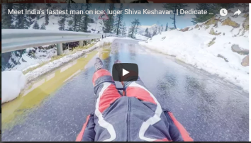 Video of Shiva Keshavan Credits to Redbull: https://www.youtube.com/watch?v=446y2e6l7dY
